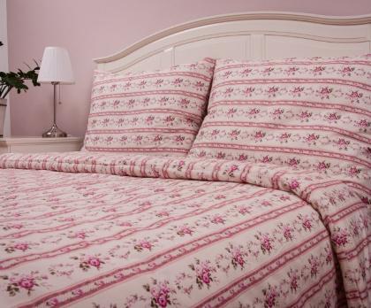 Přehoz, letní deka MOZART růžový