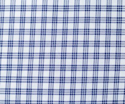 Bavlna kostička modrá NEGATIV