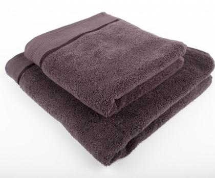 Ručník, osuška mikrobavlna SLEEPWELL šedo-hnědá