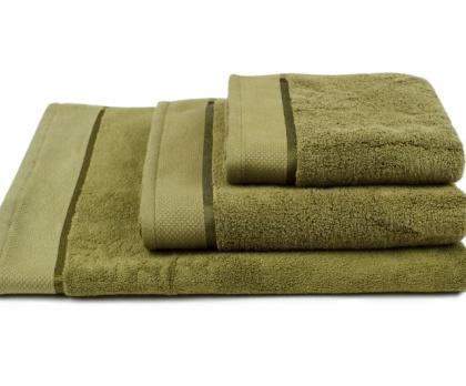 Ručník, osuška mikrobalvna SLEEPWELL tmavě zelená