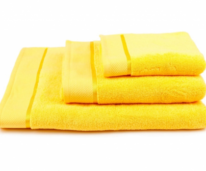 Ručník, osuška mikrobavlna SLEEPWELL žlutá