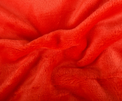 Prostěradlo mikroflanel oranžová grep SLEEP WELL