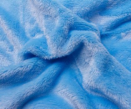 Dětské prostěradlo MIKROFLANEL modré