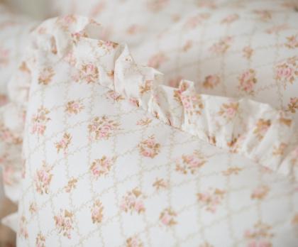 Bavlna RŮŽE PUDROVÁ (k patchworku)