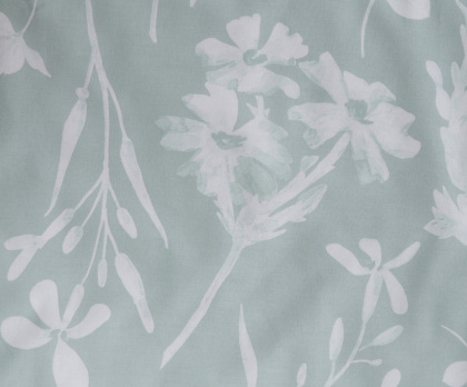 Bavlna FLORA mint