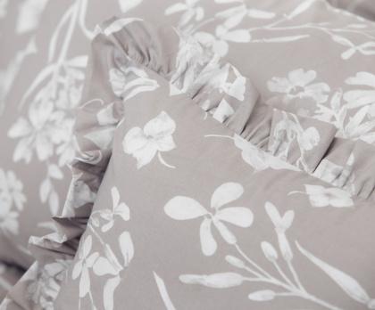 Bavlna FLORA bílá káva