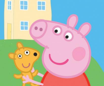Bavlněné povlečení PEPPA PIG