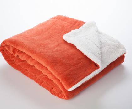 Beránek deka z mikrovlákna KORÁLOVÁ