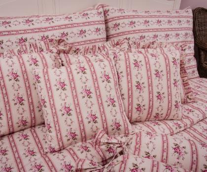 Povlak jednoduchý MOZART růžový