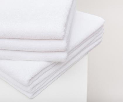 Ručník hotelový bílý