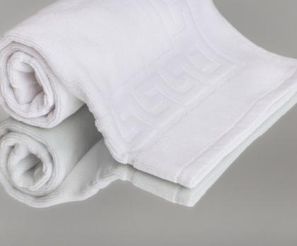 Předložka hotelová bílá