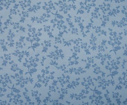 Bavlna LATA modrá