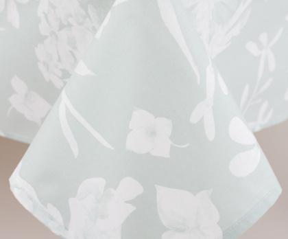 Ubrus bavlněný FLORA MINT