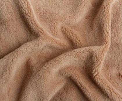 Prostěradlo mikroflanel čokoláda 200x200 cm SLEEP WELL
