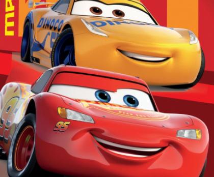 Osuška CARS 95 RED