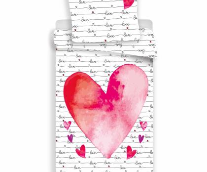 Bavlněné povlečení LOVE