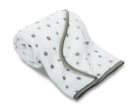 Dětská deka mikrovlákno PUNTÍK 75x100 cm