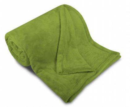 Deka mikroflanel SLEEP WELL® - 150x200cm - KIWI