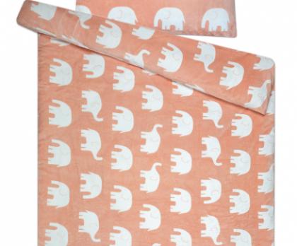 Povlečení mikroflanel SLEEP WELL ® sloni