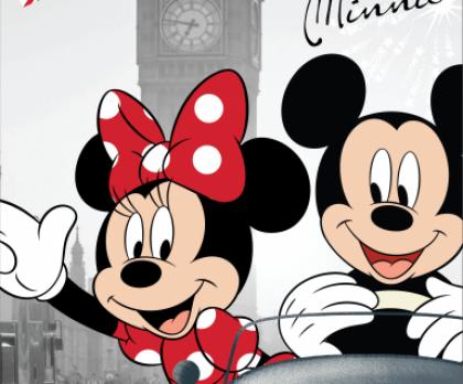 Osuška Mickey a Minnie in LONDON