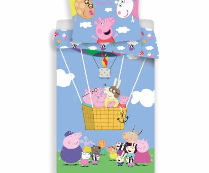 Bavlněné povlečení PEPPA PIG balon